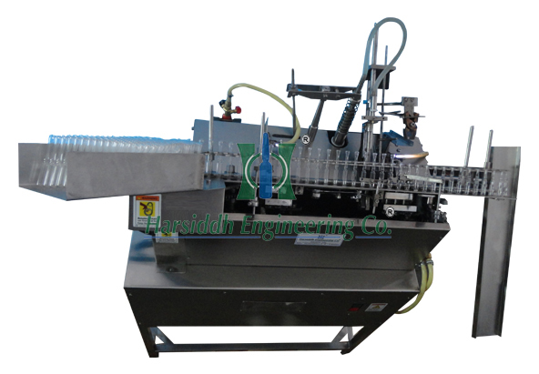 Single Head Closed Ampoule Filling And Sealing Machine