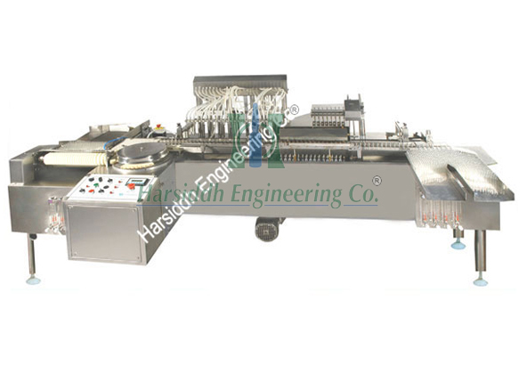 High Speed Eight Head Vertical Ampoule Filling and Sealing Machine