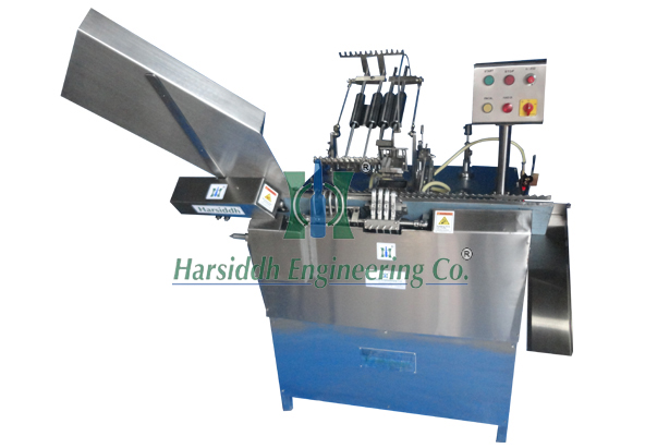 Tube Filling and Sealing Machine – Four Head Onion Skin Tube Filler and  Sealer Machine