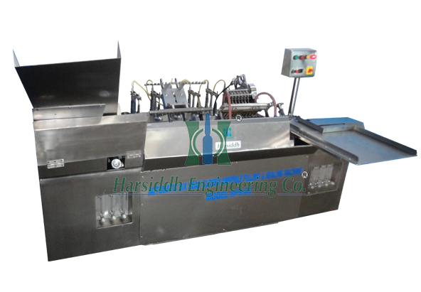 Six Head Closed Ampoule Filling and Sealing Machine