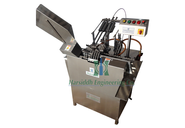 Two Head Ampoule Filling and Sealing Machine