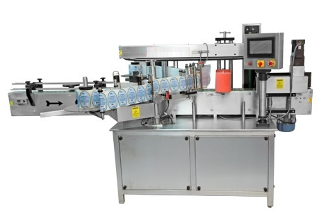 Double Side Flat Bottle Sticker Labeling Machine